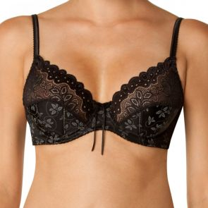 Bendon Yvette Underwire Bra 75-547 Black