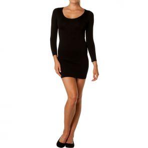 Betty Basics Kathryn Scoop Dress Black BB118