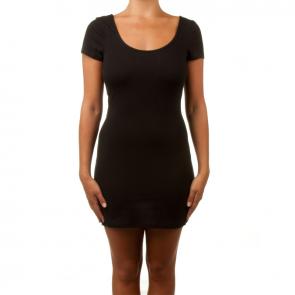 Betty Basics Areatha Cap Sleeve Dress Black BB206