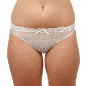 Curvy Kate Princess Thong White CK6002