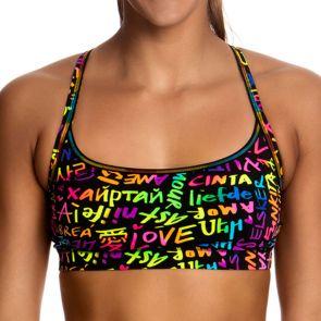Funkita Love Funkita Ladies Sports Top Love Funkita FS02L01446