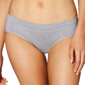 Lovable Sexy & Seamless Boyshort Opal Grey L300-1028