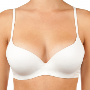 Lovable Sexy and Seamless Moulded Contour Bra LLSG146B White