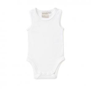 Marquise Sleeveless Bodysuit White MQB1