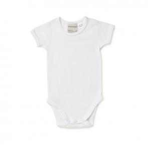 Marquise Short Sleeve Bodysuit White MQB2