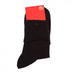 Red Robin Delight Turnover Socks Navy R10091