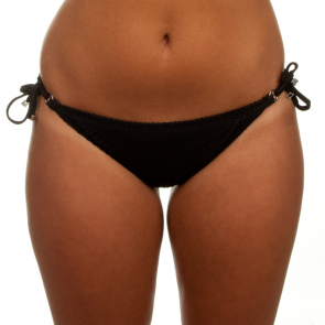 Finch Swim Santorini Tie Side Pant Black SANP90