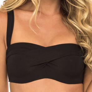 Sunseeker Basix 11 Ways Bikini Top Black SS11142