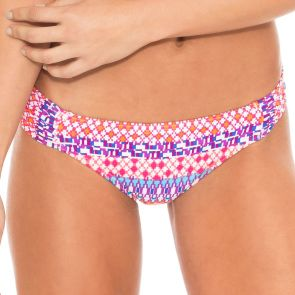 Sunseeker Gypset Gathered Side Pant Coral SS30596