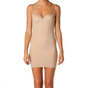 Nancy Ganz Shapewear Body by Nancy Ganz Sleek Slip Dress Warm Taupe W8004