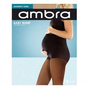 Ambra 15D Baby Bump Tight ABABU Natural