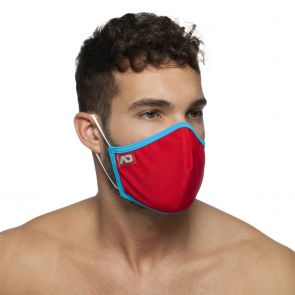 Addicted Spider Face Mask AC106 Red