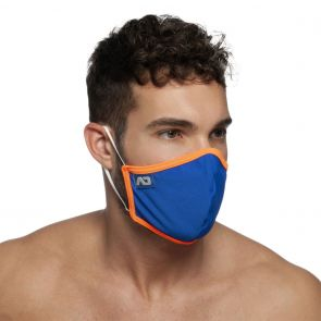 Addicted Spider Face Mask AC106 Royal Blue