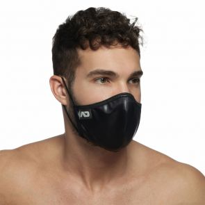 Addicted Shiny Face Mask AC108 Black