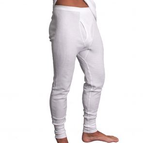 Holeproof Aircel Thermal Long John MYPY1A White