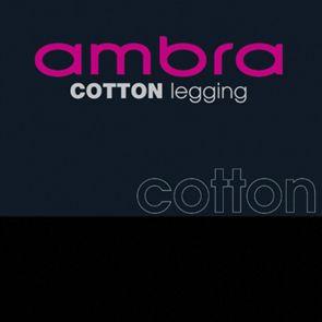 Ambra Cotton Leggings ACOTLYCLEG Black