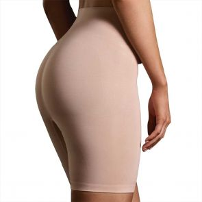 Ambra Killer Figure Powerlite Thigh Shaper Short AMKFSRT Rose Beige