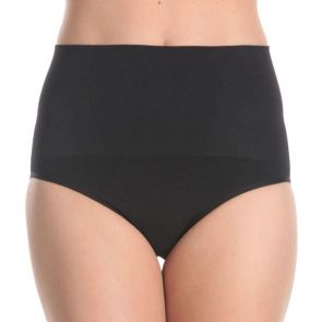 Ambra Anti-Cellulite Hi-Cut Brief AMSHHRB Black