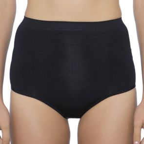 Ambra Killer Figure Hi-Cut Control Brief AMSHMHCSB Black