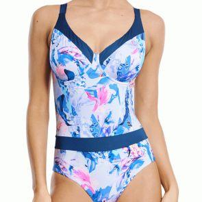 Aqua Blu Magnolia D/DE Cup Swim One Piece A9041MA Multi