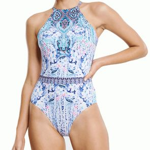 Aqua Blu Babylon Swim One Piece A9084BA Multi