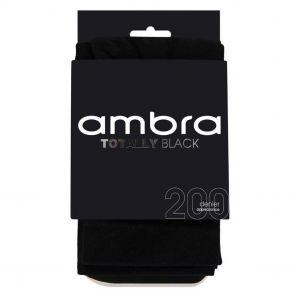 Ambra 200D Totally Opaque Tight ATOBLOPQ Black