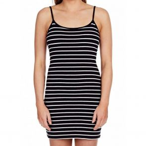 Betty Basics Rhianna Slip Black/White Stripe BB209