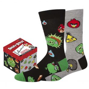 Bamboozld Mens Angry Birds Gift Box 2-Pack BBS21GB2PKANGRYBIRDS Assorted