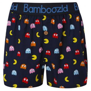 Bamboozld I Love Pacman Boxer Short BBUS21BSILOVEPACMAN Navy