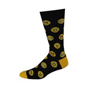 Bamboozld Mens Emoji Sock BBW17EMOJ Black
