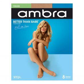 Ambra Better Than Bare Bodyshaping Toeless Pantyhose BETNTPH Bondi Buff