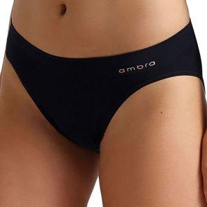 Ambra Bondi Bare Bikini Brief AMUWBOBI Black