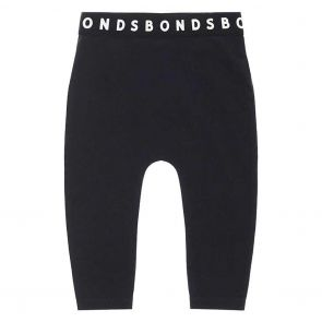 Bonds Stretchies Baby Legging BXF8A Black