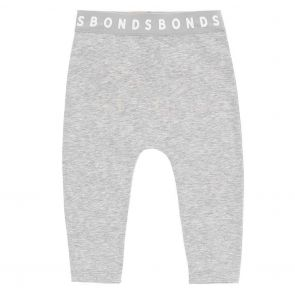 Bonds Stretchies Baby Legging BXF8A New Grey Marle