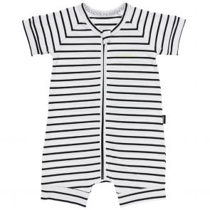 Bonds Zip Romper Wondersuit BXNMA Black Stripes