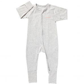 Bonds Baby Zip Wondersuit BZDYM Grey and White