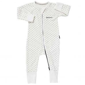Bonds Baby Zip Wondersuit Poodelette BZJSM White Spot