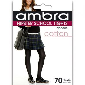 Ambra Cotton Hipster School Tight CHIPST College Navy