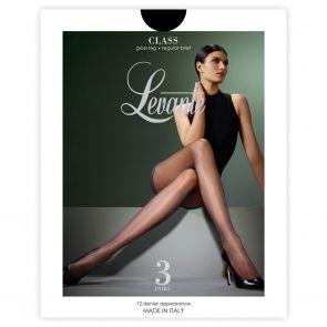 Levante Core Sheers Class Regular Brief 3 Pack CLA3PPH Nero