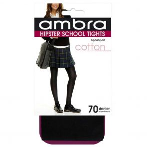 Ambra Cotton Hipster School Tight CHIPST Classic Black