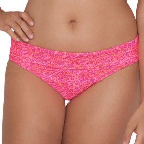 Curvy Kate Swim Daze Fold Over Brief Pink Mix CS3925