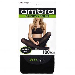 Ambra Organic Bamboo Tights BAMPT Black