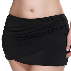 Elomi Swim Essentials Wrap Skirted Brief ES7619 Black