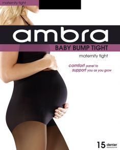 Ambra 15D Baby Bump Tight ABABU Black