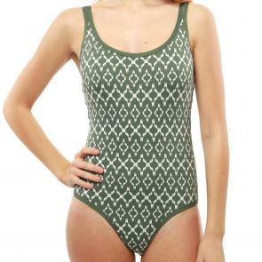 Moontide Sonar Underwire Cami Suit Olive M4640SN