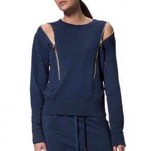 LEVEL Riley Unisex Chunky Sweat L2218 Indigo Blue