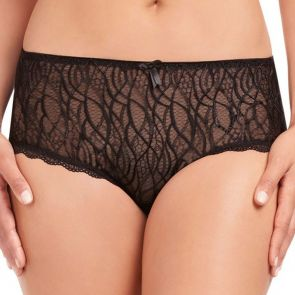 Fayreform Alessia Rose Culotte F34-571 Black