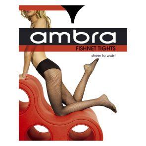Ambra Fishnet Tights FISNTTI Black