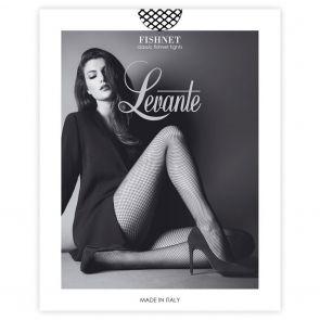 Levante Perennial Fashion Fishnet Tights FISNTTILEV Nero