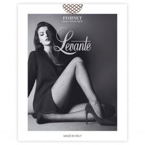 Levante Perennial Fashion Fishnet Tights FISNTTILEV Cappuccino